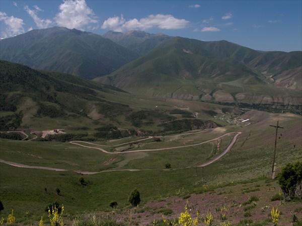 Дорога от Кашка-Суу