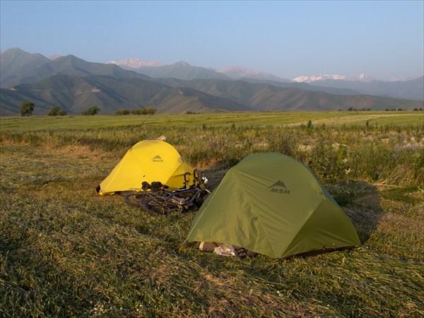 Лагерь на покосе
