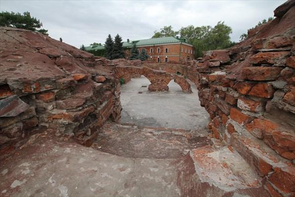 Останки Брестской крепости