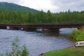 Мост через Ману, откуда мы стартовали