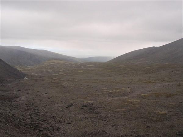 Вид с перевала Ферсмана