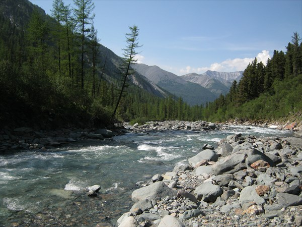 Река Правый Шумак