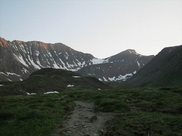 Показался перевал Шумак