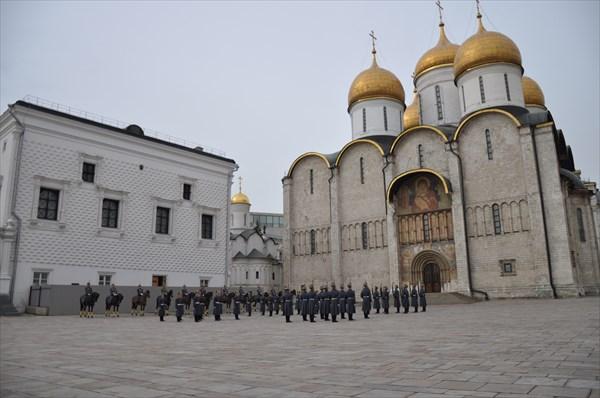 Успенский собор 1475—1479, Грановитая палата 1487 — 1491