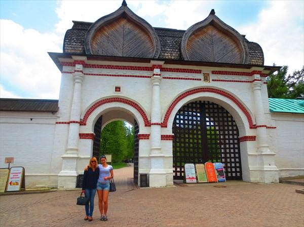 Спасские ворота XVII век, Коломенское