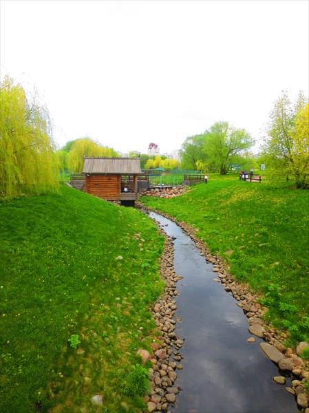 Открытый участок русла реки Жужи