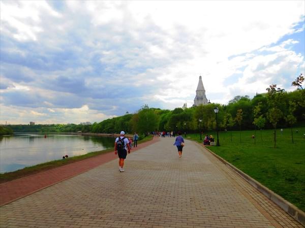 Набережная Москвы реки, Коломенское