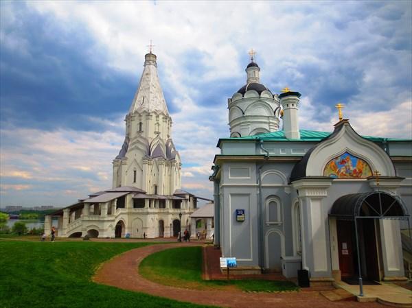 Храм-звонница Георгия Победоносца в Коломенском XVII в