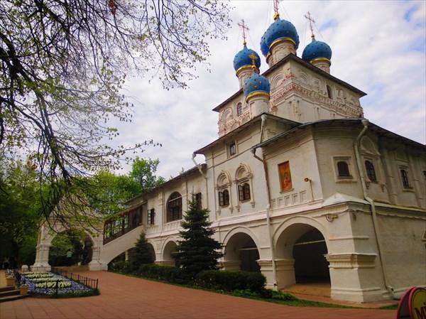 Храм Казанской иконы Божией Матери в Коломенском 1650-е