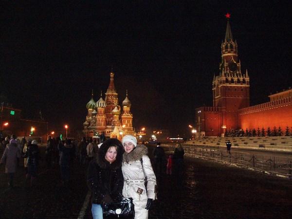 Красная площадь январь 2010