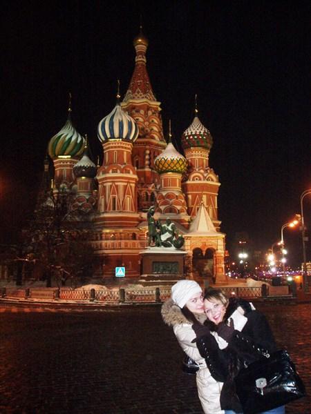 Собор Василия Блаженного Красная площадь январь 2010
