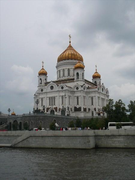 Храм Христа Спасителя 1994
