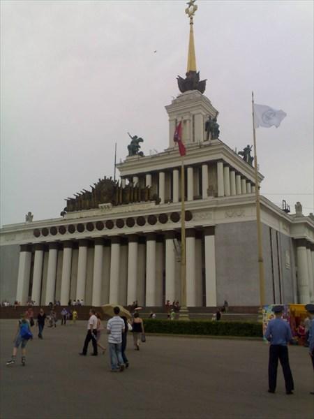 Главный павильон ВДНХ 1951—1954