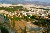 С Акрополя - на юго-восток