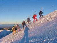 Пеше-лыжный поход в Татрах