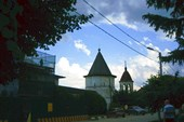 Территория Михайло - Архангельского монастыря.