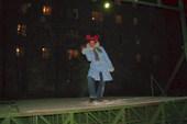 Люба на сцене