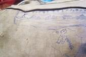 Рисунки на рюкзаке