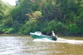 Первая моторная лодка