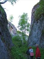 Ущелье к новомурадымовской пещере