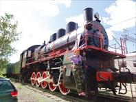 Петрозаводск, на паровозе.