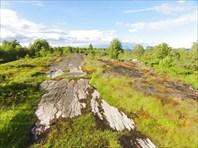 Берег, где стояли лагеря СЛОН.