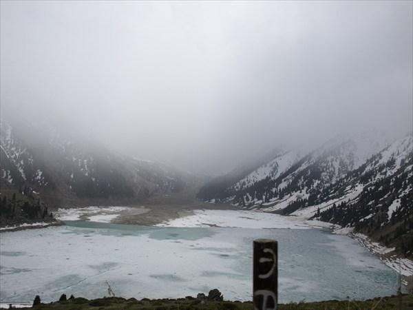 Снежный фронт над БАО