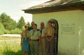Православная часовня в районе Миттенвальда (территория военных)