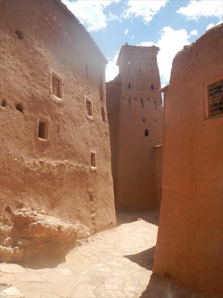 Древний берберский город Айт-Бен-Хадду
