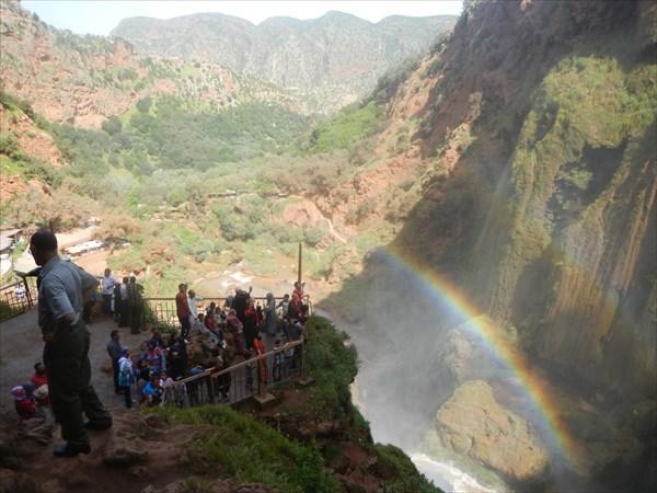 Смотровая площадка водопада Узуд