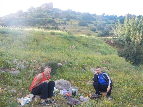 Ночевка на склоне г.Джебель-эль-Айди-Магуин