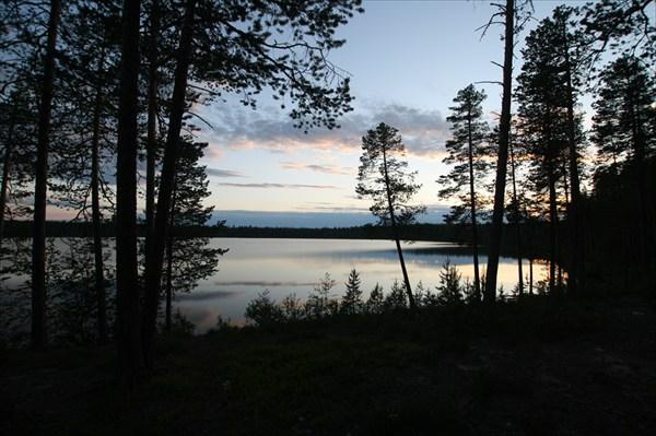 Безымянное озеро недалеко от Калевалы