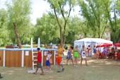 Детский бассейн и летнее кафе. Ахтубинск