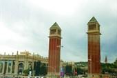 Площадь Испании. Венецианские башни.