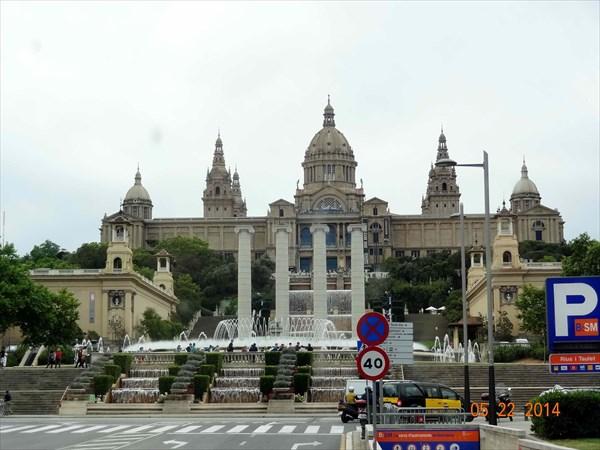 Национальный музей искусства Каталонии.