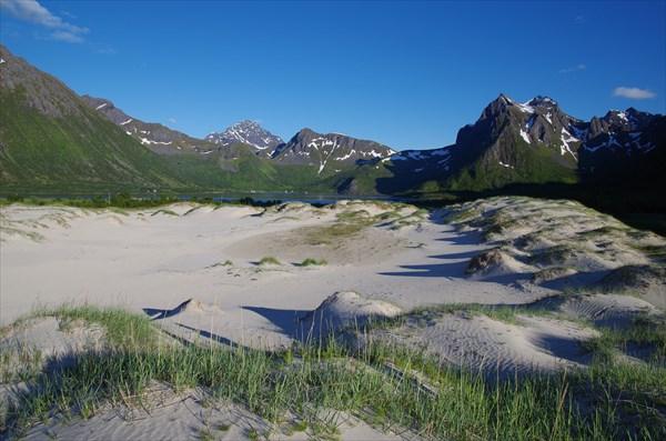 Пустыня около Morfjorden