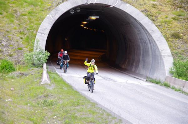 Выезд из Sigerfjordtunnelen