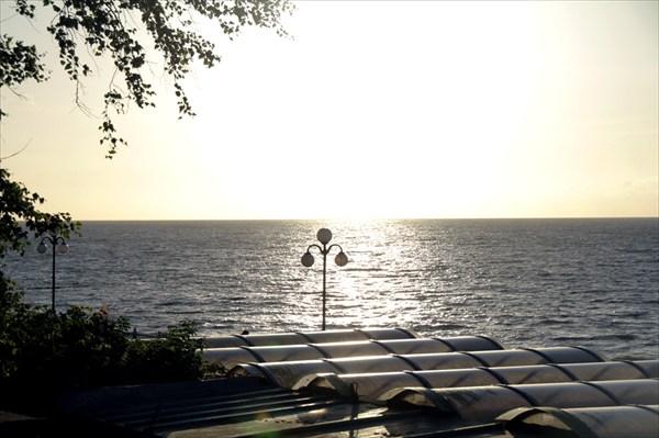 Закат в Светлогорске