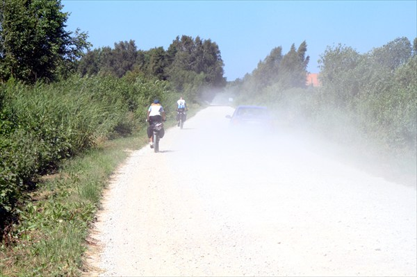 Латвийские дороги.
