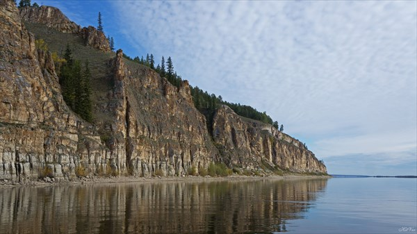 Скалы левого берега