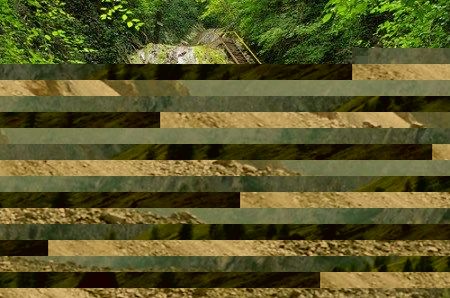 водопад, Мамедово ущелье.
