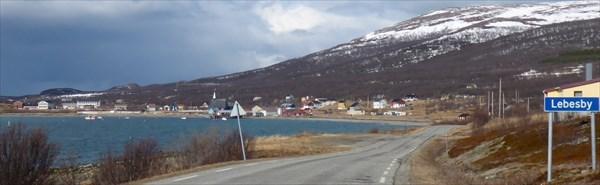 Поселок Lebesby