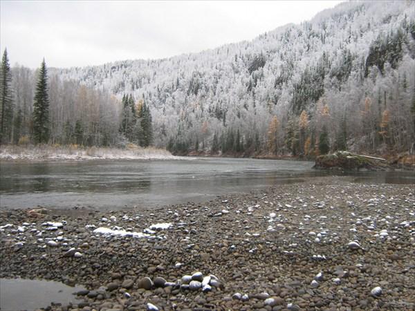 Река Агул. Восточный Саян. Октябрь 2010 год.
