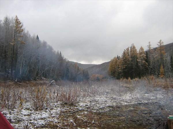 Река Агул. 2010 год.