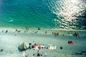Наша палатка Зима посреди нудистского пляжа в Дивноморском
