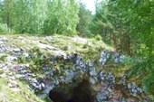 Сугомакская пещера. Вход