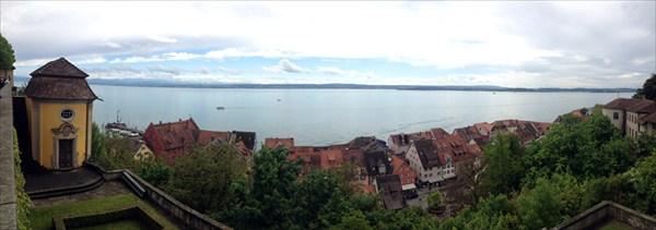 Вид с замка Burg.