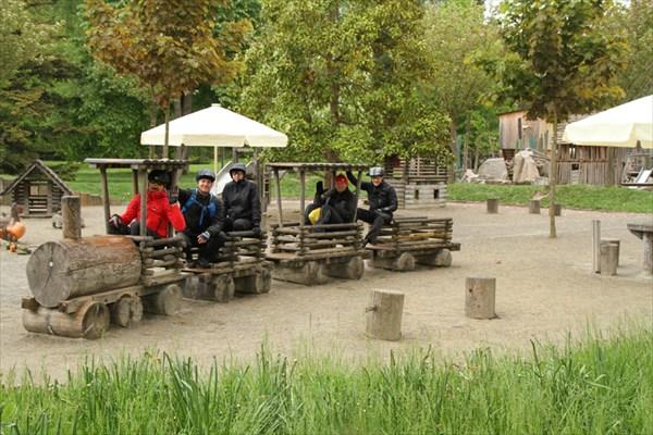 В парке Майнау