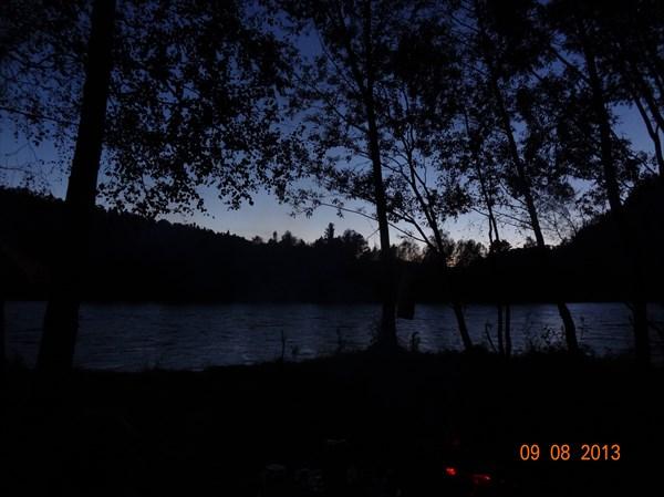 Ночь над Бией.