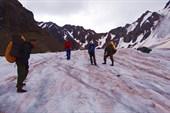 Ледник перед перевалом